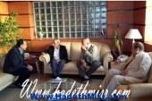 محافظ البحر الأحمر يودع وزير الزراعة و يستقبل وزير الإسكان