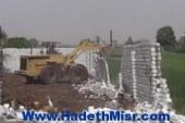 إزالة 20 حالة تعدٍّ على الأراضى الزراعية فى حملة بمدينة الأقصر
