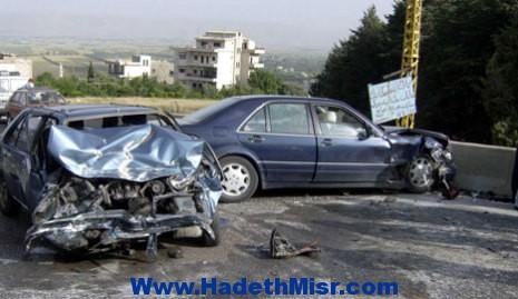 مصرع وإصابة 9 في حادث انقلاب سيارة بالمنيا