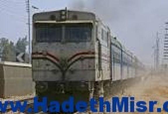 تعطل قطار 833 نصف ساعة ببني سويف بسبب مشاجرة الباعة الجائلين