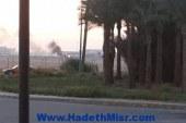 تفعيلاً لتعليمات المنظمة الدولية للطيران المدنى …  مطار الغردقة الدولى يجرى تجربة سيناريو حريق طائرة