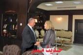 محافظ البحر الاحمريستقبل بمكتبه سفير الدنمارك بالقاهرة
