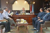 عبدالله يستقبل لجنة صندوق دعم وتمويل المشروعات التعليمية