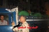 القوات المسلحة ببورسعيد تضبط 20 طن بضائع مهربة وما يزيد عن 30 إطار فردة كاوتش نقل كبير الحجم
