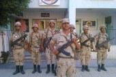 بالصور.. جولة القوات المسلحة لتأمين اللجان الإنتخابية بدمياط