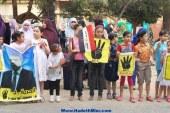 """بالصور..""""الارهابية""""تستخدم اطفالها فى تنظيم وقفة ضد """"السيسيى """"بدمياط"""