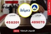 حملة السيسي  : 458201 للسيسي مقابل 12299 لصباحي بدمياط