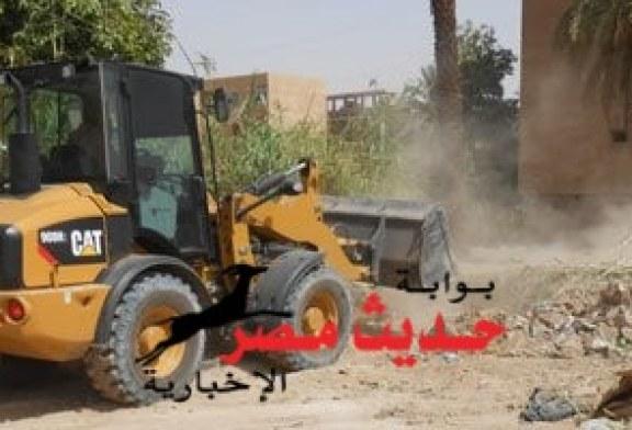 إزالة التعديات على 150 ألف فدان أراضى أملاك دولة بكرداسة