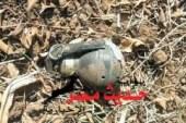 مواطن يعثر على قنبلة يديوية من مخلفات حرب أكتوبر برأس غارب