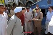 """بالصور """" الجزار و قريش """"   يقودان  حملة أمنية لرفع الإشغالات بالغردقة"""