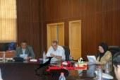 إجتماع لمناقشة جدول أعمال لجنة مشروع المواقف بالبحر الأحمر