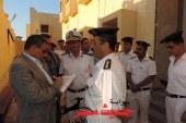 مدير أمن البحر الأحمر يتفقد نقاط تأمين الطرق والأفواج السياحية وصولاً لمرسي علم والشلاتين بطول 460 كيلو