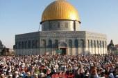 الشرطه الاسرائليه تسمح لاول مره منذ أمد طويل دخول المسلمين الى المسجد الاقصى