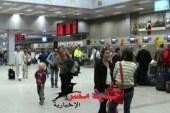 استقبل مطار الغردقه 70 رحله طيران و13  ألف سائح روسى وألمانى
