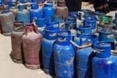 ضبط 12 شخصا لحيازتهم 870 أسطوانة بوتاجاز قبل بيعها بالسوق السود