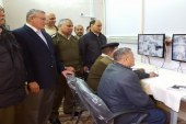 تشغيل مكتب الأمن والمراقبة بالكاميرات بمجمع محاكم أسيوط