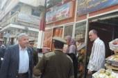 مدير أمن الغربية يتفقد المجمعات الاستهلاكية ويلاحظ بتوفير السلع للمواطنين