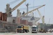 إغلاق موانئ السويس الأربعة بسبب شده الرياح واستمرار إغلاق ميناء شرم الشيخ