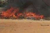 الحماية المدنية تخمد حريق العتبة