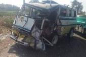 مصرع مزارع وإصابة 8 فى حادث تصادم بطريق فرعى بسوهاج …