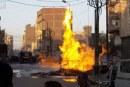 10 سيارات إطفاء للسيطرة على حريق بـ5 منازل بكوم أشفين فى قليوب