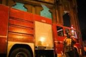 15 سيارة إطفاء تحاول السيطرة على حريق مصنع بويات بمدينة بدر