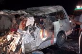 مصرع 3 أشخاص فى حادث تصادم بطريق رأس سدر..