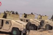 قوات إنفاذ القانون بوسط سيناء تقبض على 8 تكفيريين وتدمر 4 عربات ومخزنين سلاح