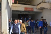 بالصور….. جامعة أسيوط تفتح أبوابها لإستقبال الطلاب فى أول أيام الفصل الدراسى الثانى