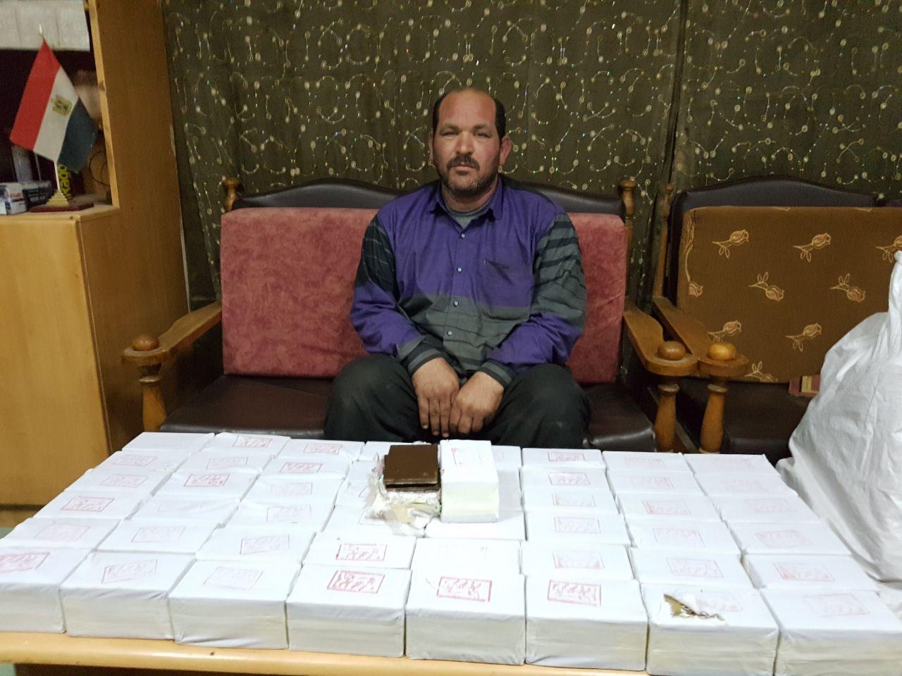 """الداخلية تحبط دخول شحنة ضخمة من حشيش """"الرهوان"""" قادمة من ليبيا"""