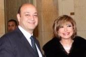 """لميس الحديدى: """"عمرو أديب بخير الحمد لله.. إجهاد ووعكة بسيطة"""""""