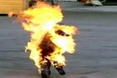 """سائق """"توك توك"""" بالغربية يشعل النار في نفسه لمروره بضائقة مالية"""