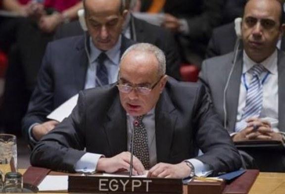 مندوب مصر بمجلس الأمن: يصعب علينا مرور الجرائم في سوريا بدون حساب