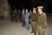 """مساعد الوزير ومدير أمن سوهاج يجريان اختبار """"الكبسة"""" بقوات الأمن"""