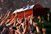 أهالى المنيا وبنى سويف يشيعون جثامين شهداء الحادث الإرهابى