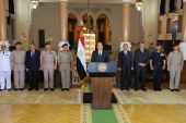 السيسى: مصر لن تصبح قاعدة للراديكالية فى العالم