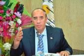 رئيس جامعة أسيوط يتفقد أعمال تشطيب مبنى كلية طب الأسنان