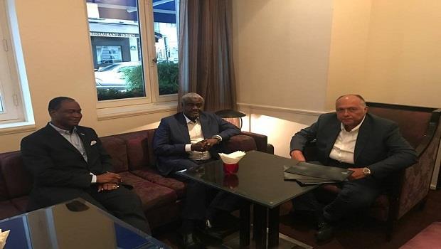 سامح شكرى يبحث مع وزير خارجية سيراليون التعاون الثنائى وإصلاح مجلس الأمن