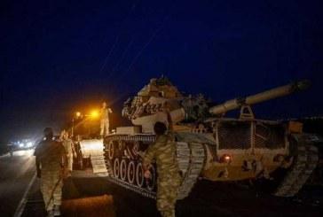 «سانا»: الجيش السوري يشتبك مع التركي.. ويقترب 3 كيلومترات من حدودها