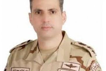 المتحدث العسكرى: استشهاد وإصابة 10 أفراد فى انفجار عبوة بشمال سيناء