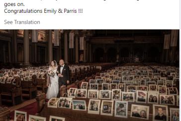 المعازيم بصورهم بس.. زفاف يقتصر على العروسين بسان فرانسيسكو يخطف الأنظار